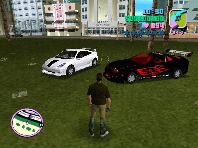 gta vice city cars