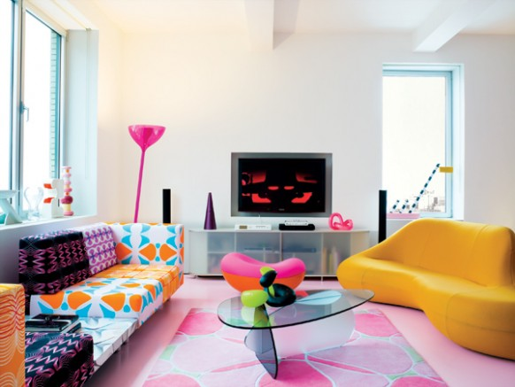 Decor me casas de famosos karim rashid for Disenadores de interiores famosos