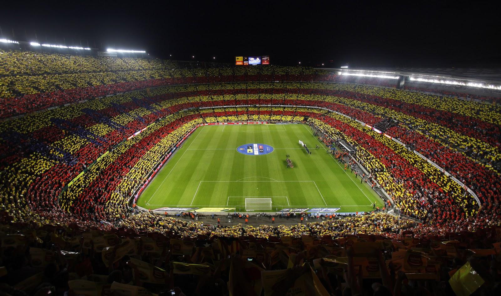Fc barcelona estadio - Soccer stadium hd ...