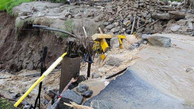 Aunque mejora el clima, Chitagá sigue incomunicado