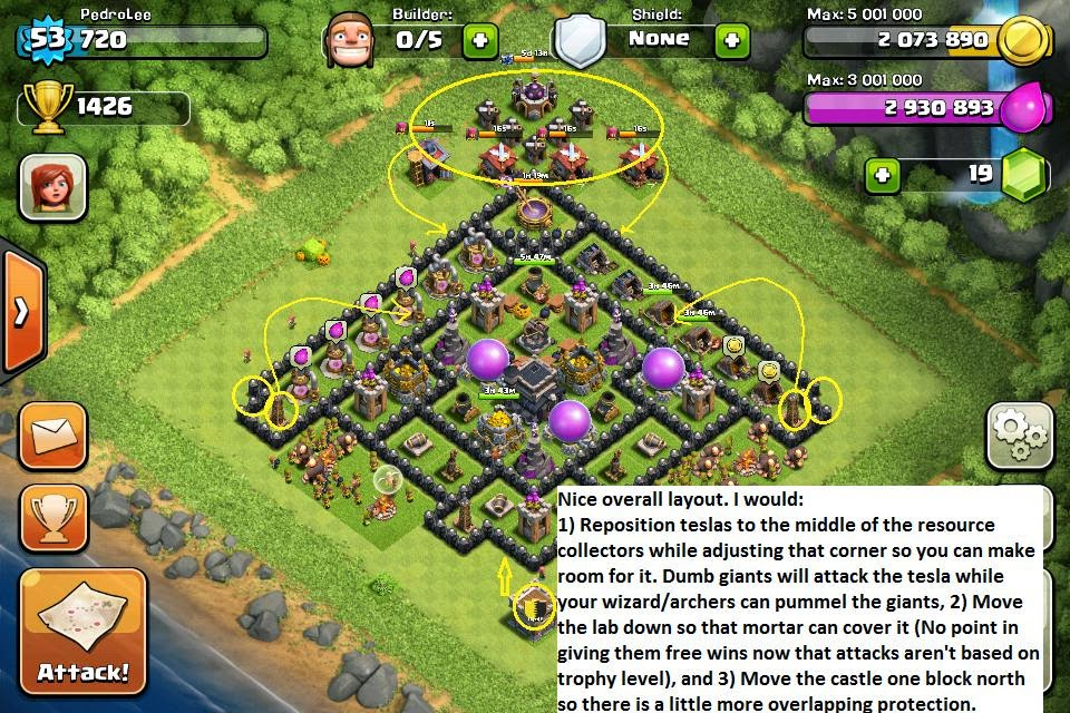 honor-james: Clash of Clans