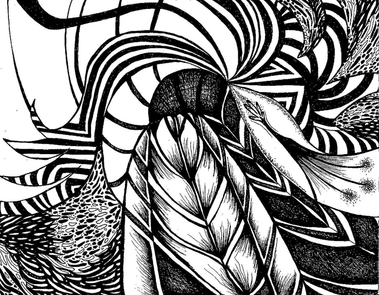 Black Abstract Art — Decohubs