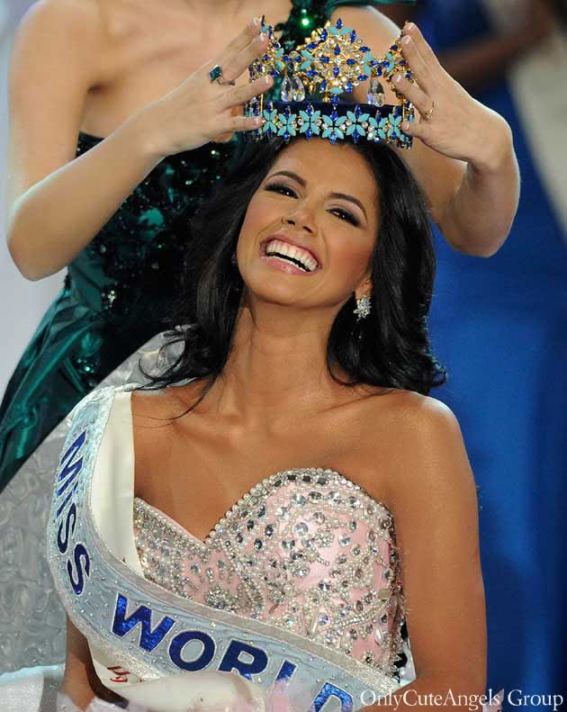 Venezuela's Ivian Sarcos Wins Miss World 2011 Crown