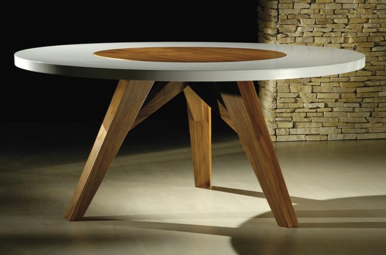 Blog da juliana faria mesas de jantar redondas - Mesas redondas modernas ...