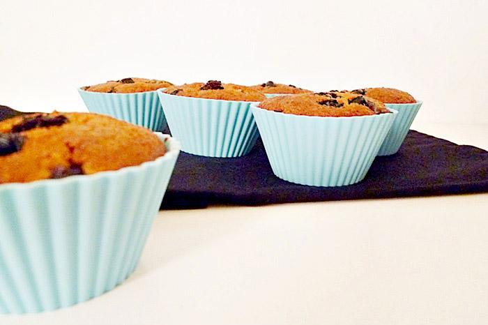 Kokos-Blaubeer Muffins