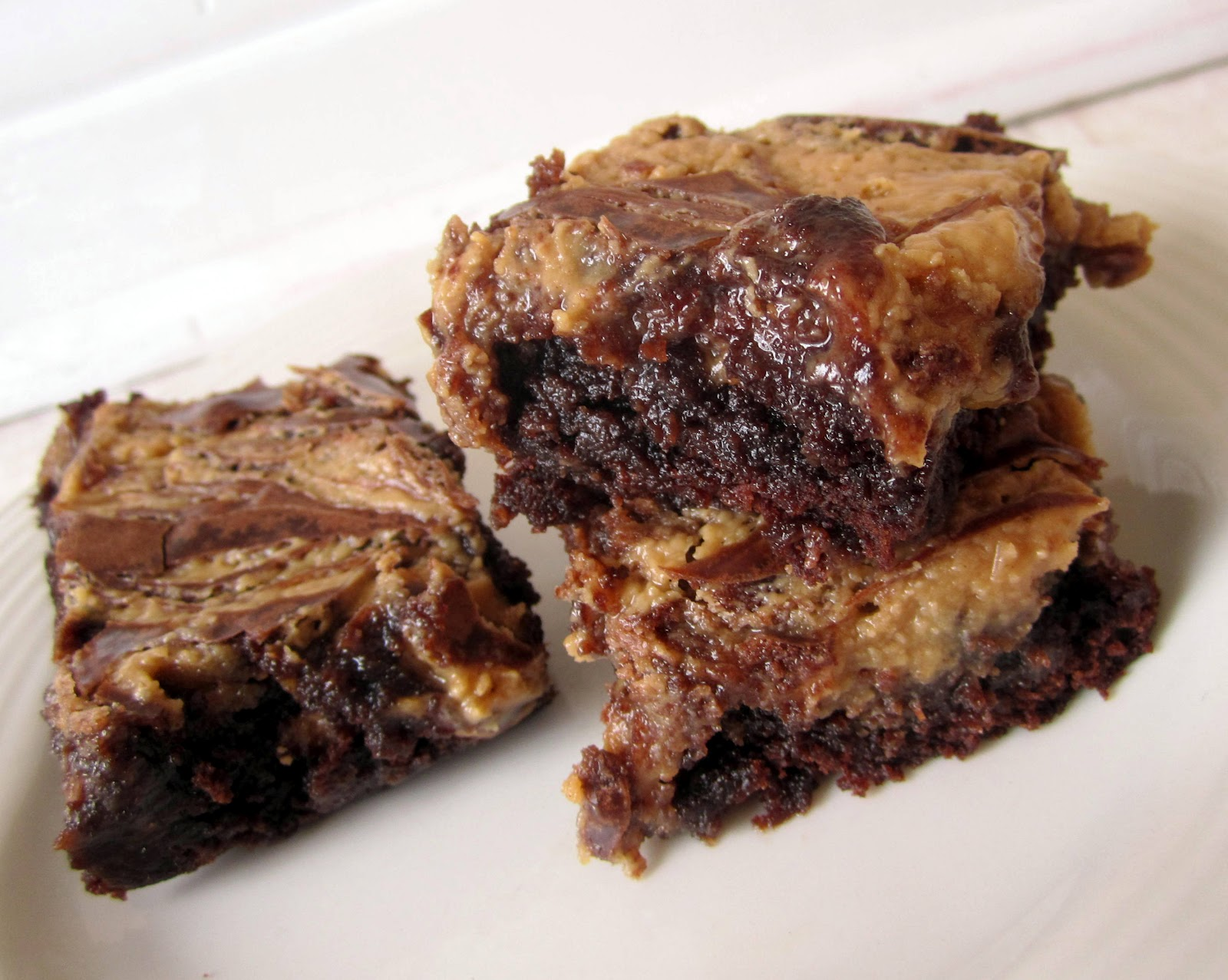 Izzy in the Kitchen: Peanut Butter Swirl Brownies