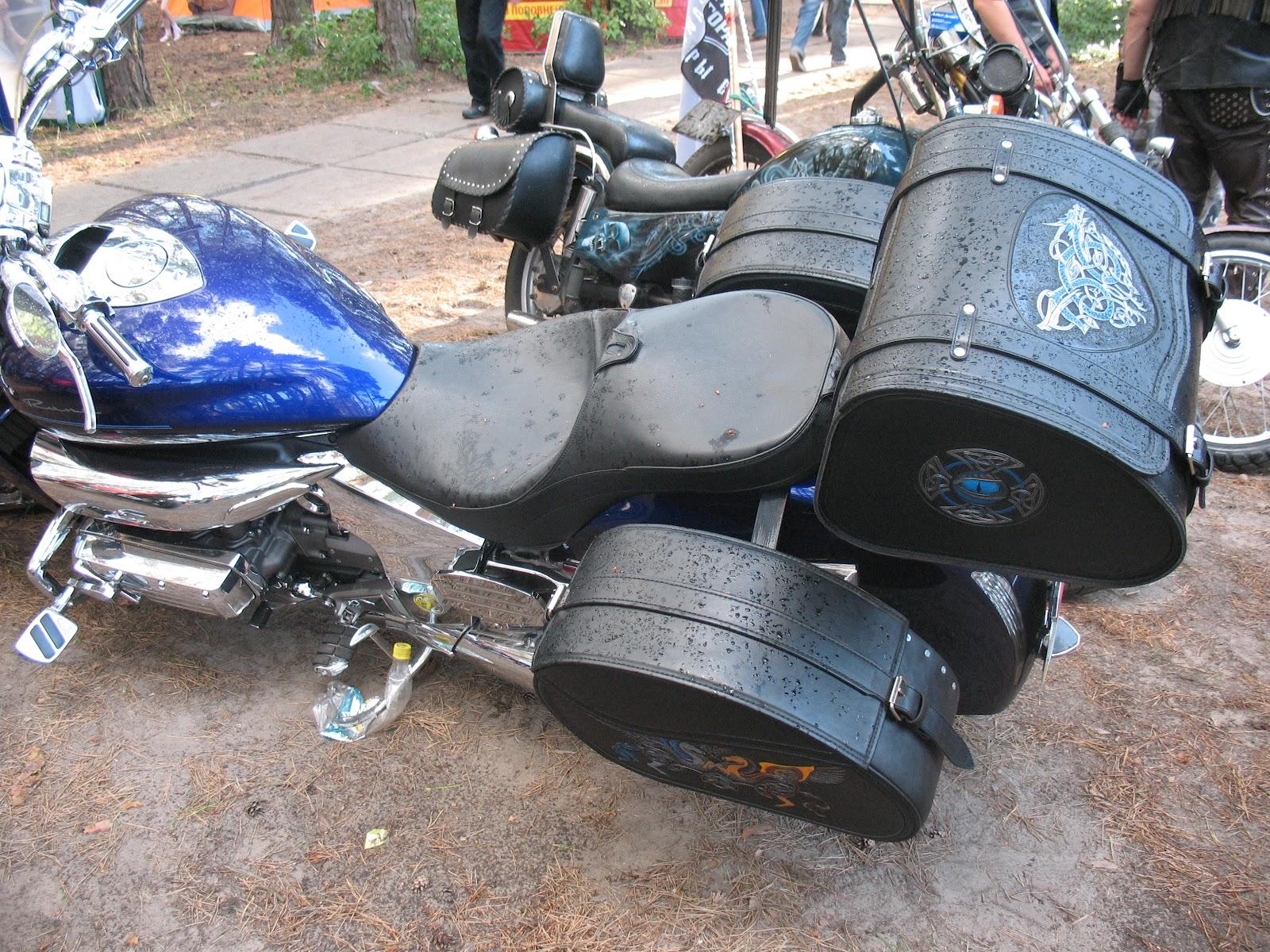 Как сделать кофры на мотоцикл своими руками видео