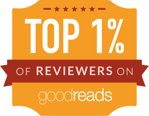 I am in the TOP 1% of reviewers on Good Reads!!!