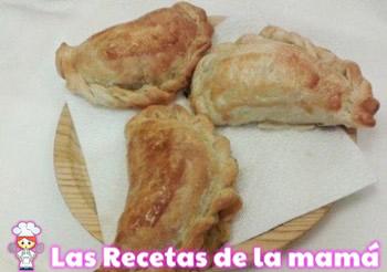 Receta de Empanadillas de hojaldre con pisto