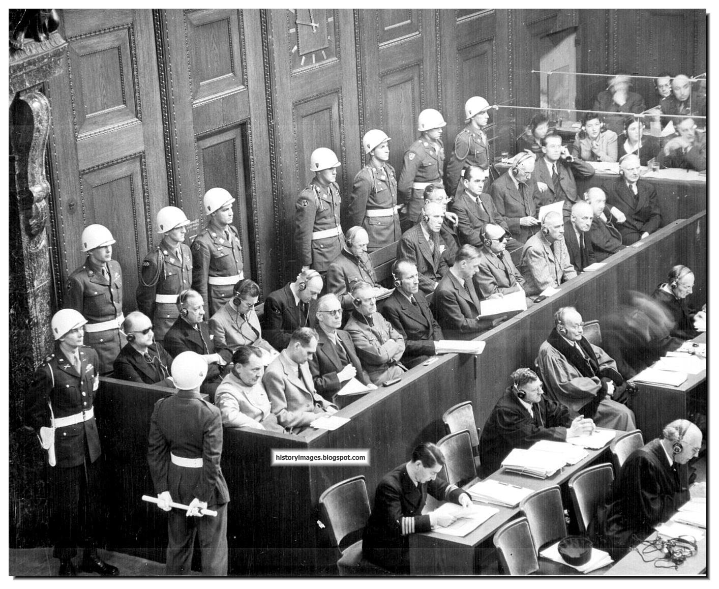 the nuremberg trials The nuremberg trials were set up to prosecute the leading nazi war criminals these trials set a precedent for international law and regulating the.