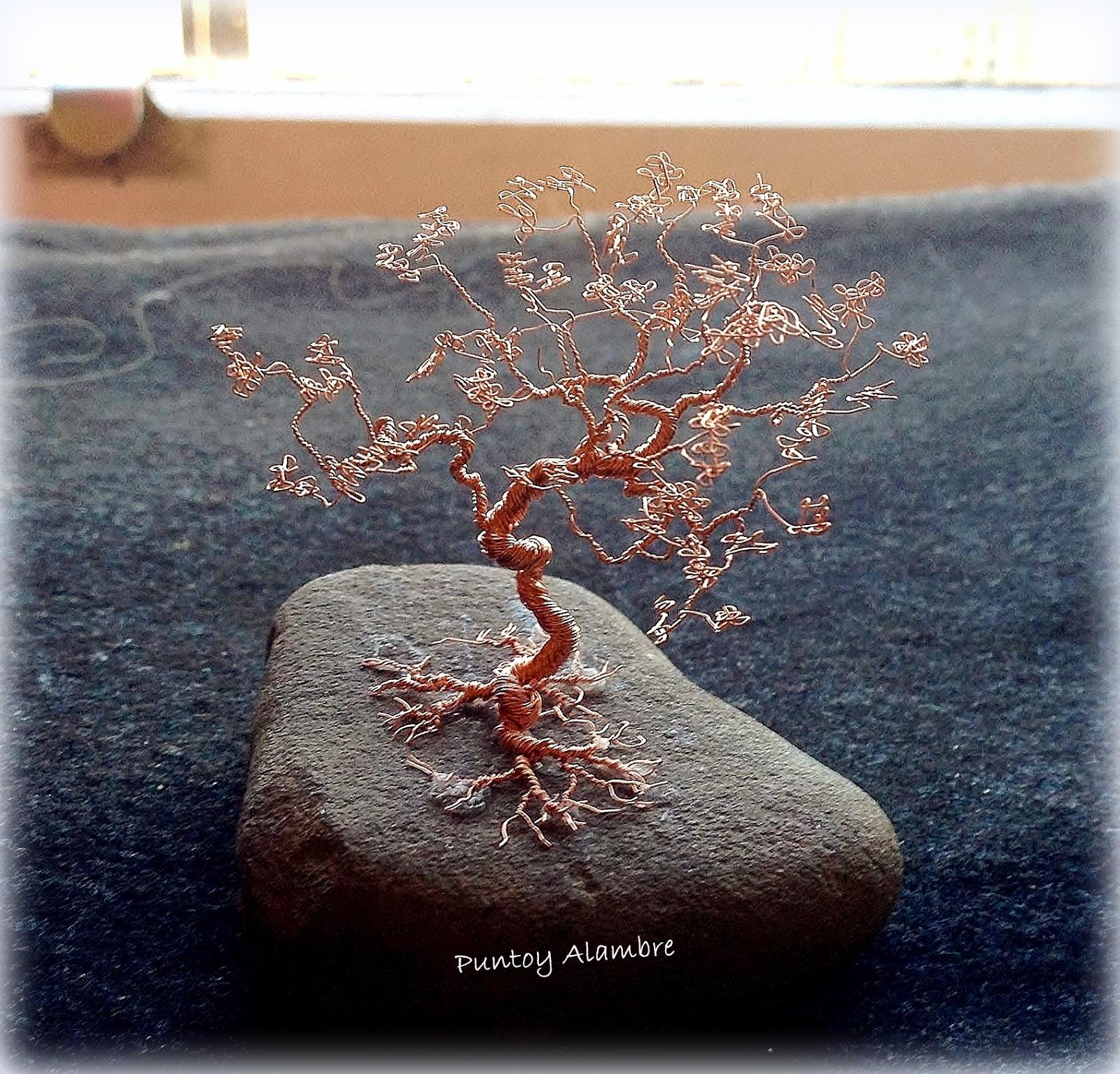 Puntoy alambre bonsai de alambre de cobre wire - Alambre de cobre ...