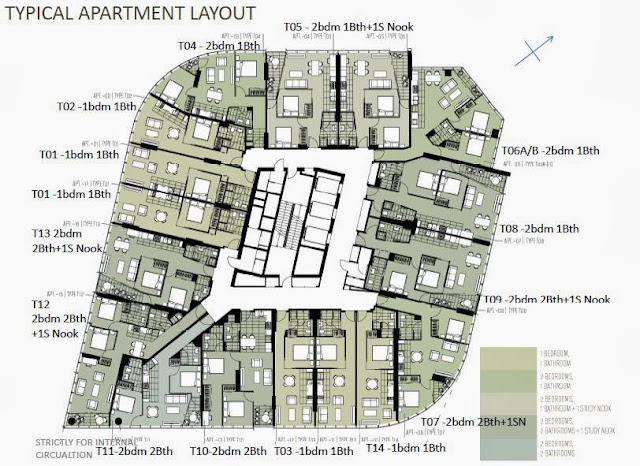 The Altus Typical Apartment Layout