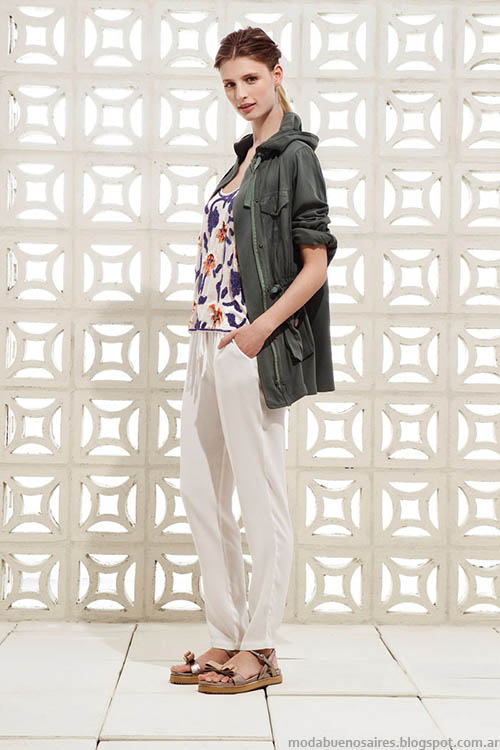 Clara primavera verano 2015, cazadoras y chaquetas abrigos de verano.