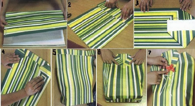How to Wrap Gift Into a Unique Form of Dress