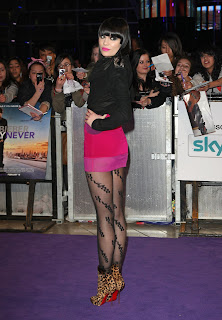 Jessie J at the Never Say Never London Premiere