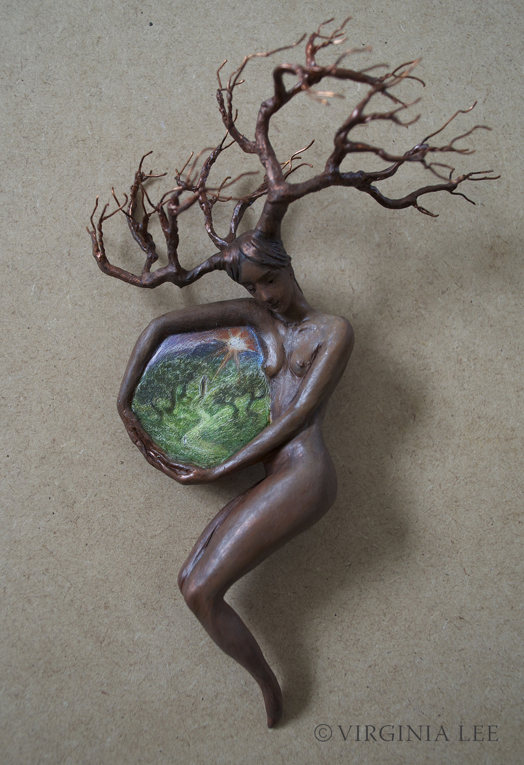 Virginia lee portals to inner worlds for Tree of life bookshelf