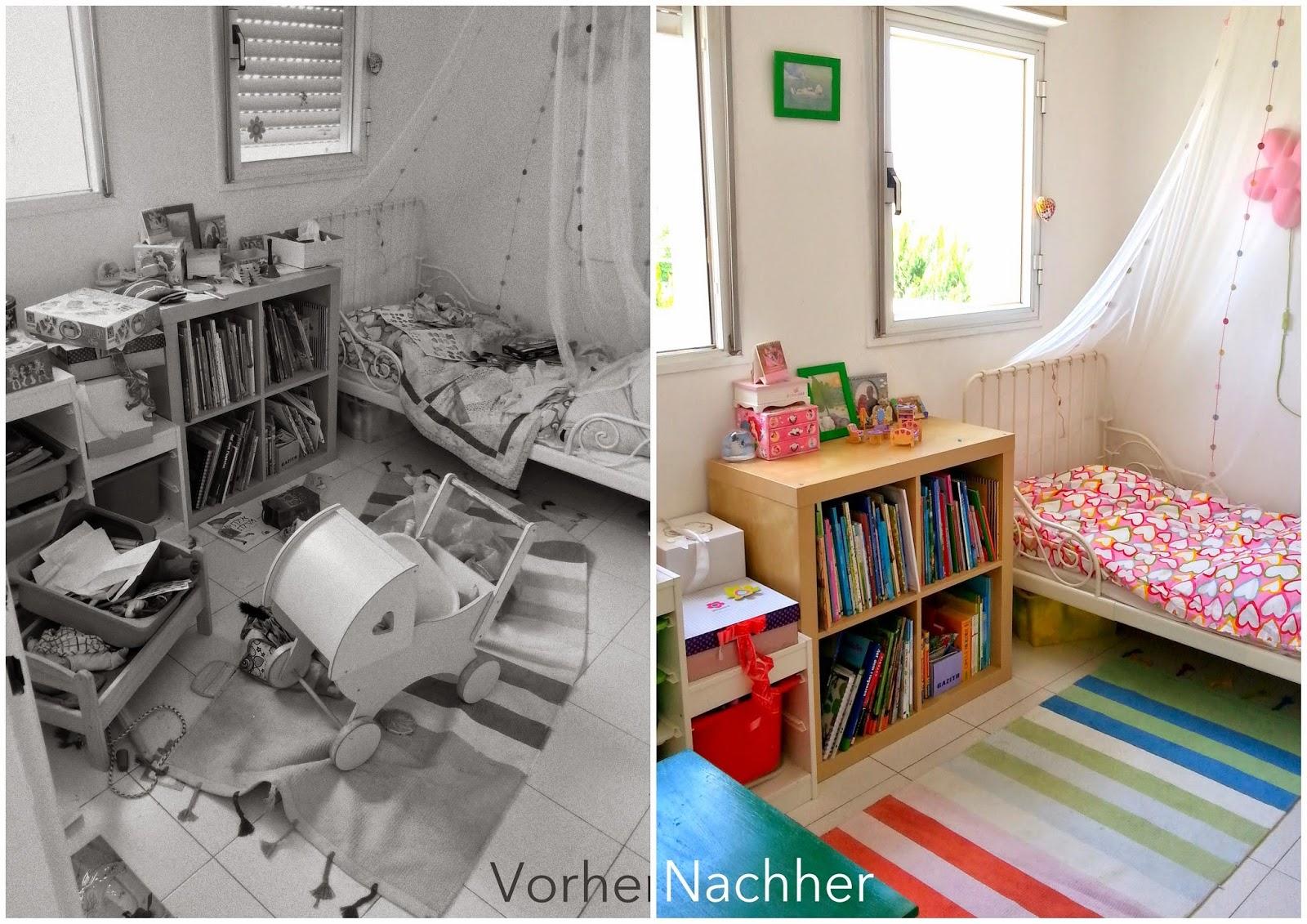 Aufräumen Vorher Nachher aufgeräumtes kinderzimmer eine anleitung in 13 schritten