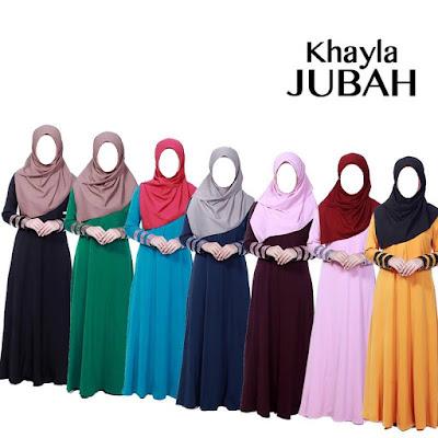 DY Muslimah Shop: Jubah KHAYLA