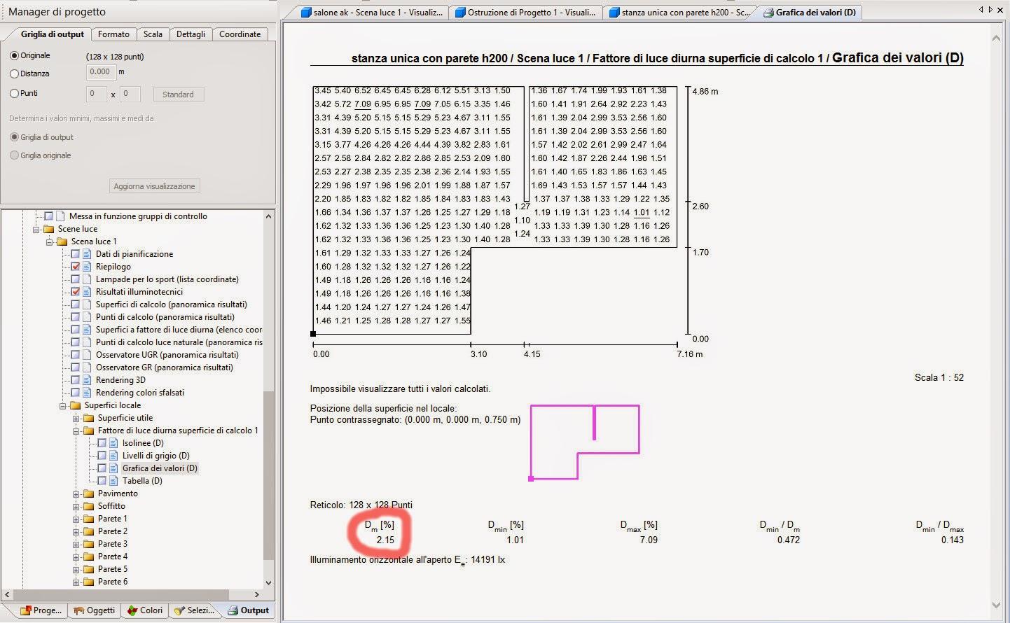 Diari di un architetto calcolare il fattore medio di luce for Calcolo superficie