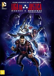 Liga da Justiça: Deuses e Monstros - BDRip Dual Áudio