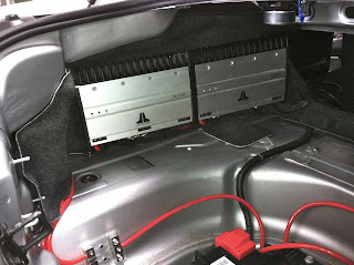 2012 Chevy Camaro Aftermarket Amp Sub Install