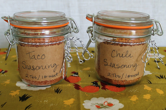 Taco and Chili Seasonings
