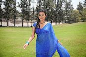 Neelam Upadhyay pics in Blue saree-thumbnail-8