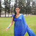 Neelam Upadhyay pics in Blue saree-mini-thumb-8