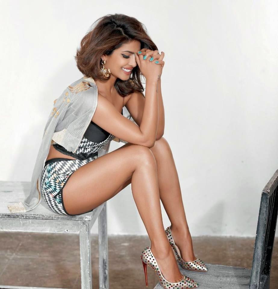 Priyanka Chopra photo shoot for Cosmopolitan India Magazine March 2015