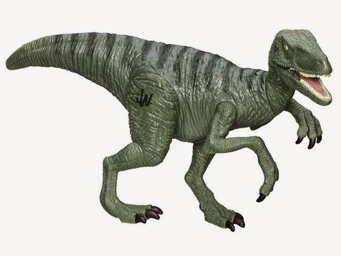 "JUGUETES - JURASSIC WORLD Velociraptor ""Charlie"" | Dinosaurio | Figura - Muñeco  Producto Oficial Película 2015 | Hasbro B1140 | A partir de 4 años"