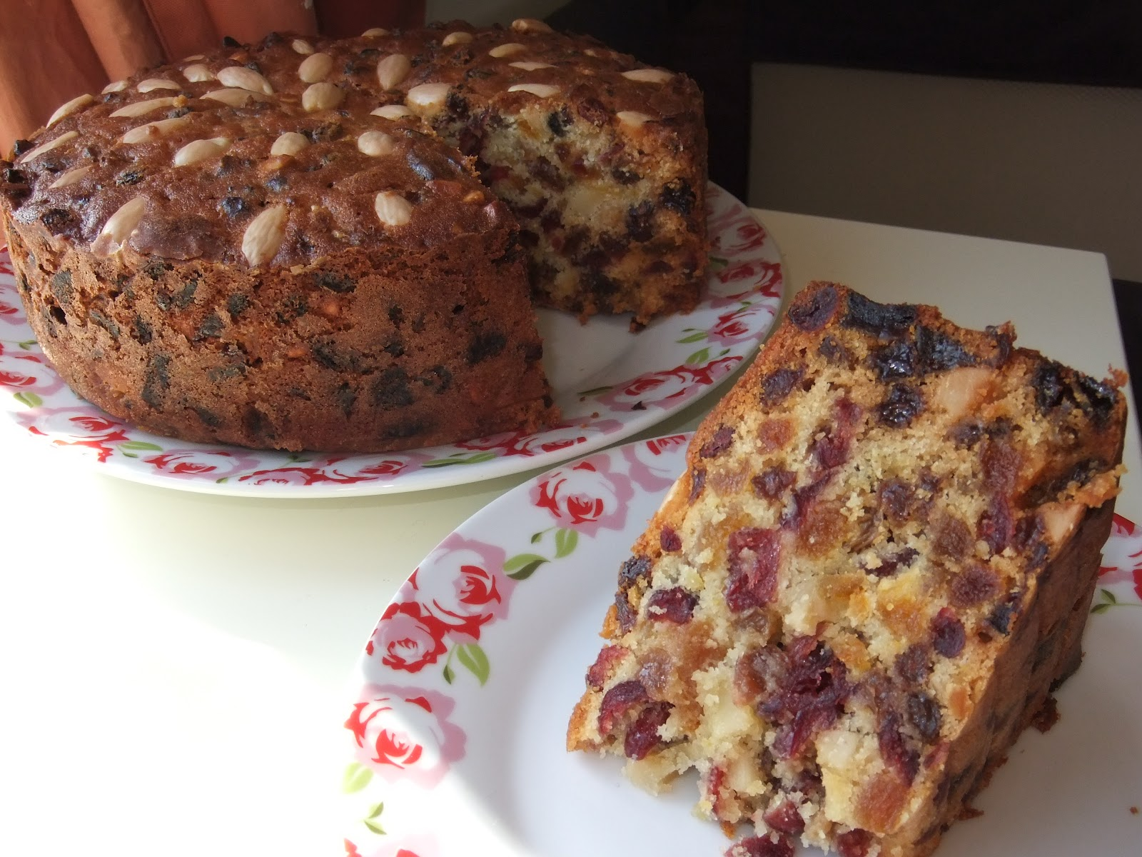 Cranberry Apricot Fruit Cake