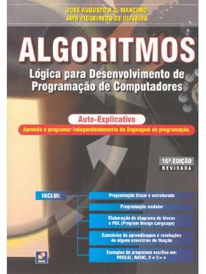 Download Algoritmos Lógica para Desenvolvimento de Programação de Computadores