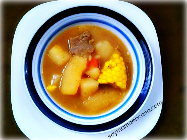 receta facil de sopa de verduras easy recipe vegetables soup