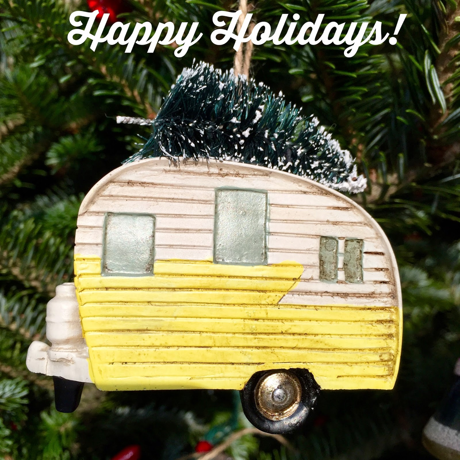 Happy Holidays and Trailer Love