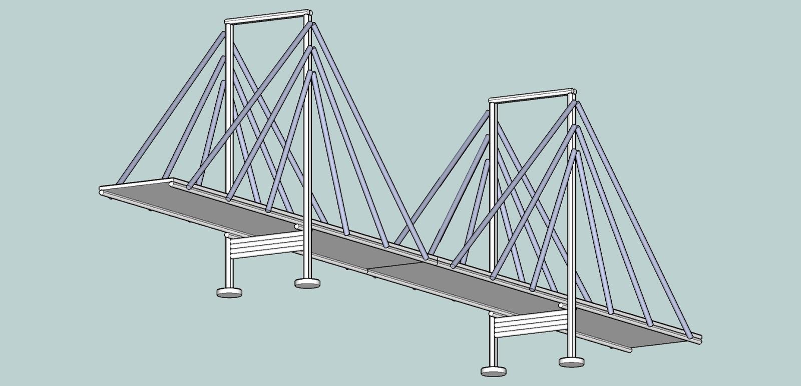 Tecnolog a escolar e s o proyecto puente colgante - Proyectos de madera ...