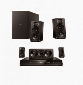 Snapdeal: Buy Philips HTD5520/94 Home Theatre System Rs.10687