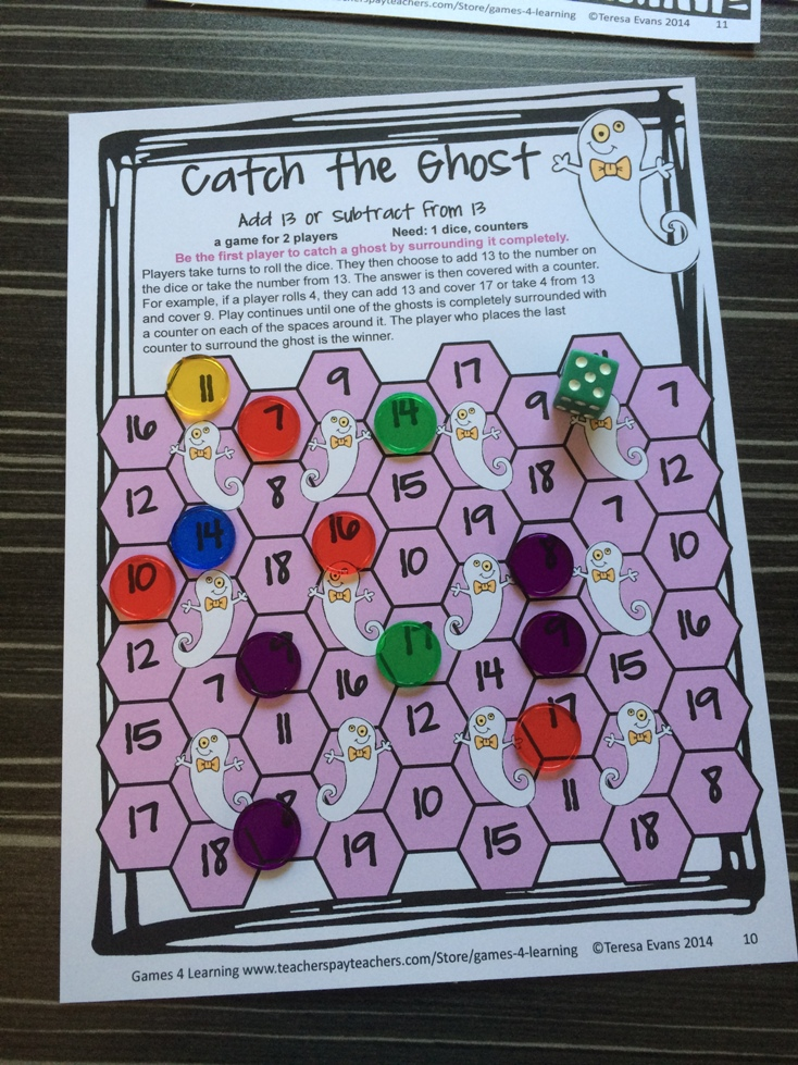 Fun printable math games for 3rd graders