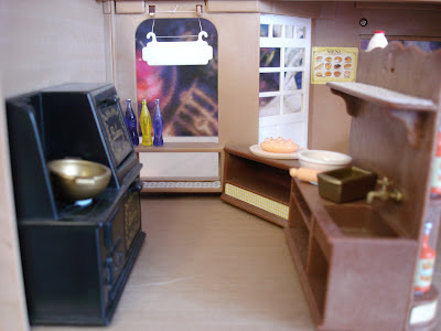 Sylvanian Families Vintage Bakery Interior Oven Sink