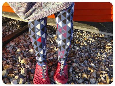 Gudrun Sjoden's geometric leggings