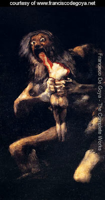 Painting 2013 Goya Saturn Devouring His Sons