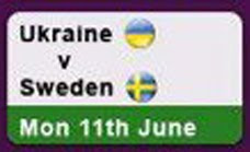 Ukraine vs Sweden