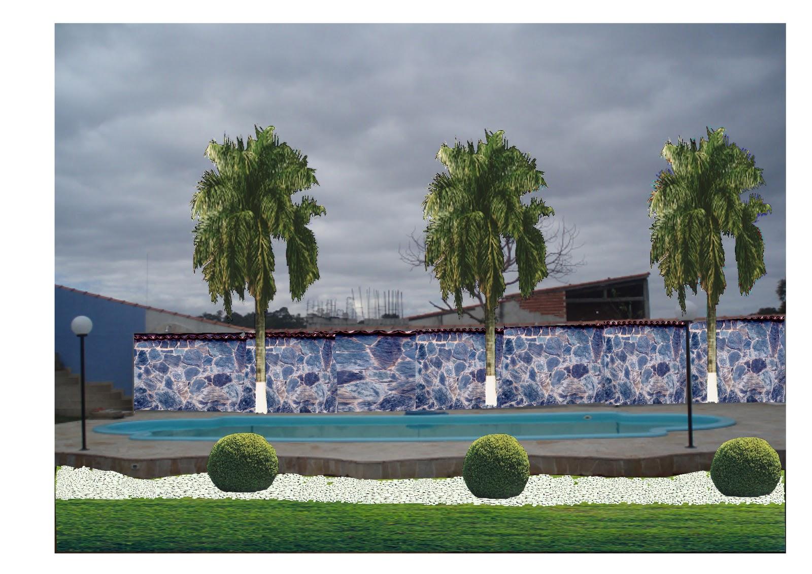 Riviera green garden paisagismo digital - Green garden piscina ...