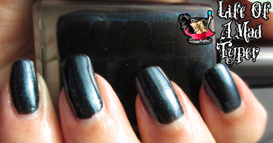 Super Black Lacquer The Grackle