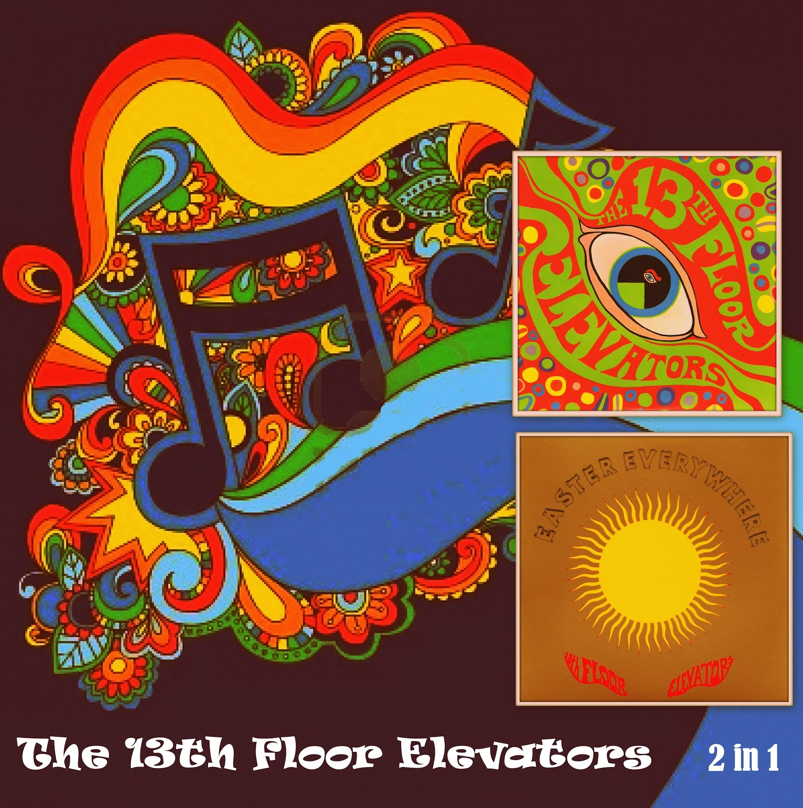 Music archive the 13th floor elevators 2 in 1 for 13 th floor elevators