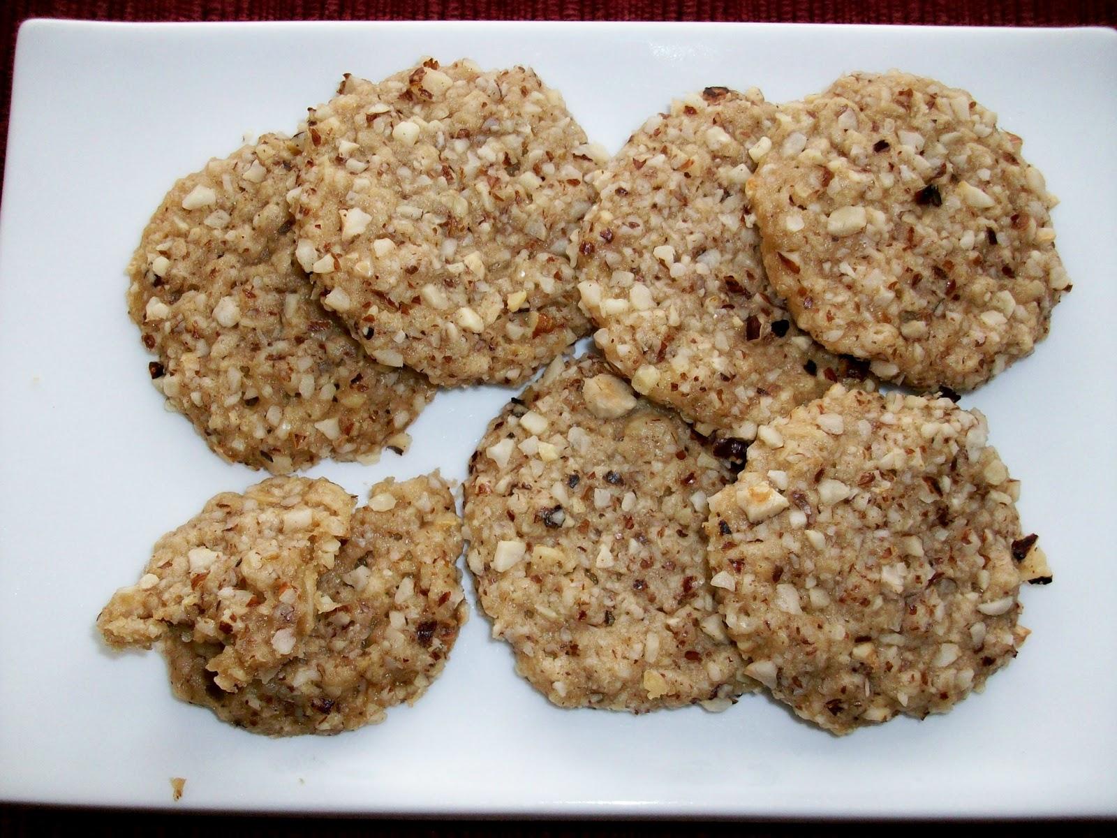 Martha's Recipe Cabinet: Maple Oatmeal Hazelnut Shortbread