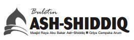 Buletin Jumat Masjid Raya Abu Bakar Ash-Shiddiq