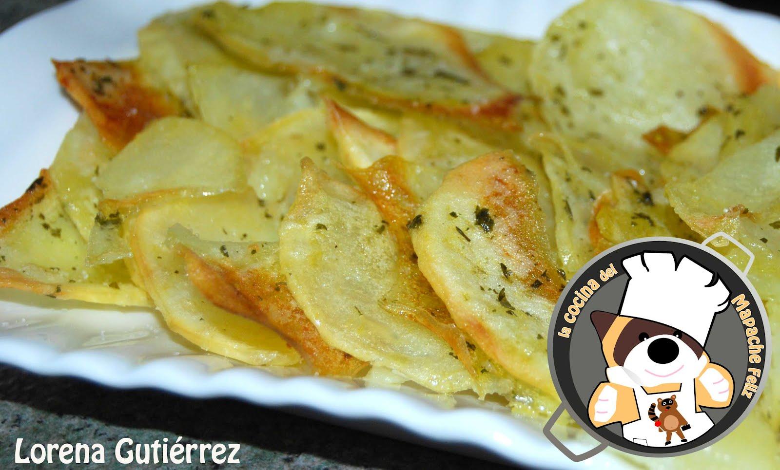 Recetas tradicionales estofado de ciervo con patatas al - Patatas pequenas al horno ...