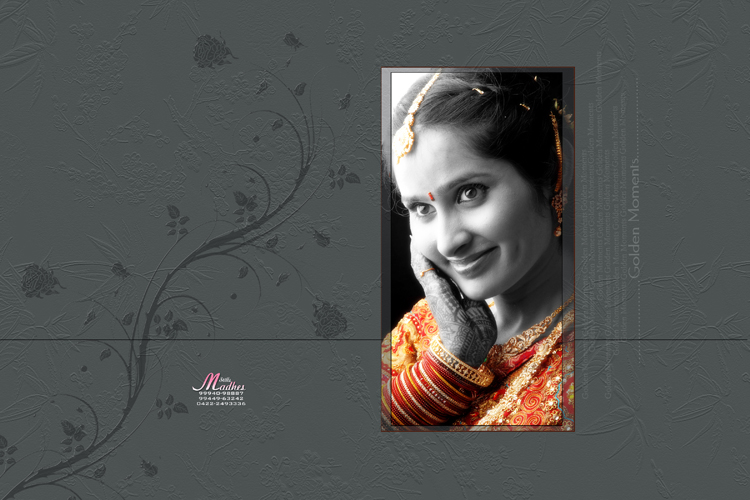 CHENNAI WEDDING ALBUM DESIGNING