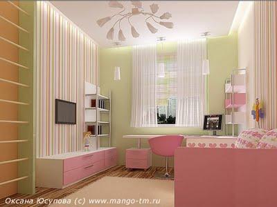 Decoraci n de interiores decoracion de paredes cuarto - Decoracion de interiores infantil ...
