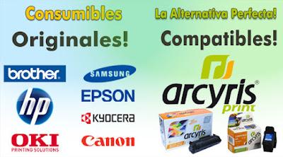 consumibles para impresora compatibles y originales